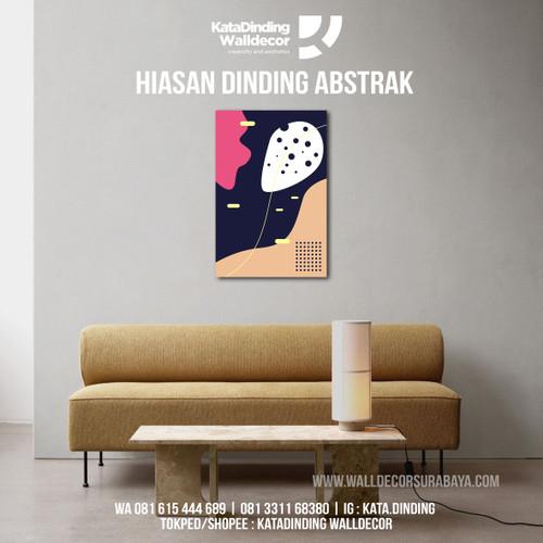 Foto Produk Hiasan Dinding Abstrak ABS1 dari Katadinding Walldecor