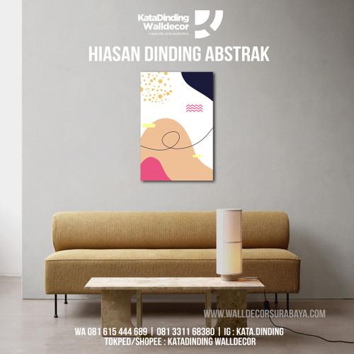 Foto Produk Hiasan Dinding Abstrak ABS2 dari Katadinding Walldecor