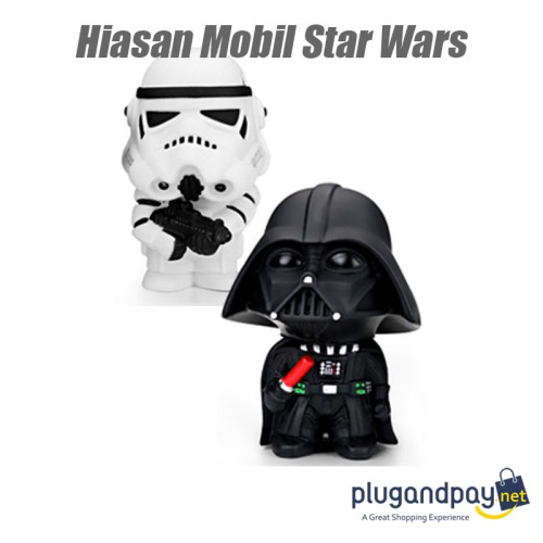 Foto Produk Boneka Goyang Mobil Action Figure Stormtrooper Dart Vader Star Wars dari plugandpay