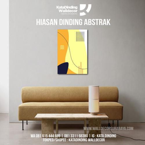 Foto Produk Hiasan Dinding Abstrak ABS3 dari Katadinding Walldecor