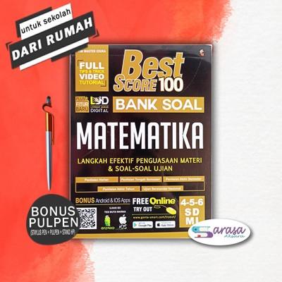 Foto Produk BUKU PELAJARAN BEST SCORE 100 BANK SOAL MATEMATIKA SD MI KELAS 4, 5, 6 - BEST MATEMATIKA dari sarasa_aksara