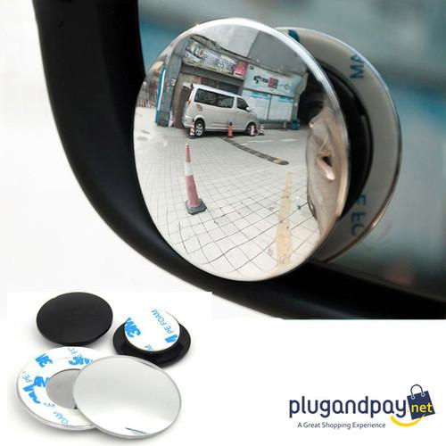 Foto Produk Kaca Cermin Spion Mobil Motor Cembung Wide Angle 2 PCS - plugandpay dari plugandpay