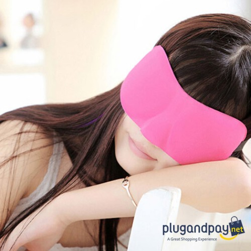 Foto Produk Soft 3D Sleeping Goggles / Kacamata Tidur Penutup Mata - plugandpay dari plugandpay