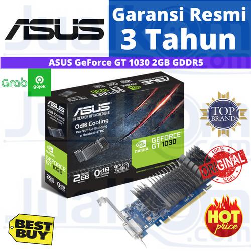 Foto Produk VGA ASUS GeForce GT1030 GT 1030 Silent 2GB DDR5 RESMI dari Karya Megah Computers