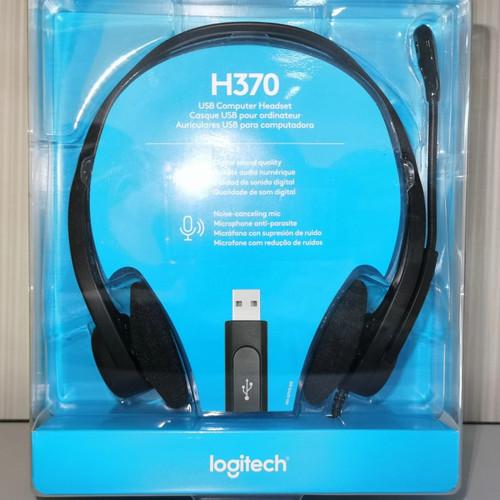 Foto Produk Logitech H370 USB Headset with noise cancelling microphone H 370 dari PojokITcom Pusat IT Comp