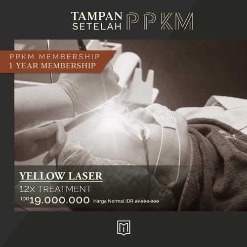 Foto Produk Tampan Setelah PPKM - 1 Year Membership Yellow Laser dari MENOLOGY by ZAP