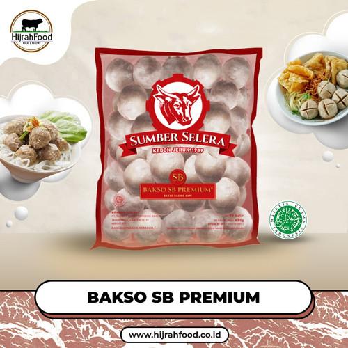 Foto Produk Bakso Sapi Sumber Selera SB PREMIUM | Premium Meatballs - SB Premium, 25 pcs dari Hijrahfood Meatshop