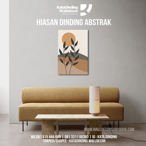 Foto Produk Hiasan Dinding Abstrak ABS12 dari Katadinding Walldecor