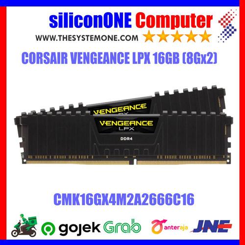 Foto Produk Corsair Vengeance LPX CMK16GX4M2A2666C16 (2X8GB) dari silicon ONE Computer