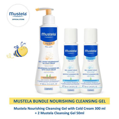 Foto Produk Mustela Bundle Nourishing Cleansing Gel dari Mustela Indonesia