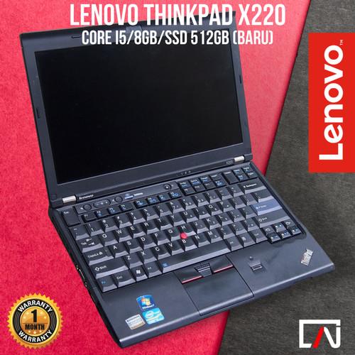 Foto Produk Lenovo Thinkpad X220 Core i5 / i7 - Second Bergaransi - 4 gb, HDD 320GB dari Apollo Notbook