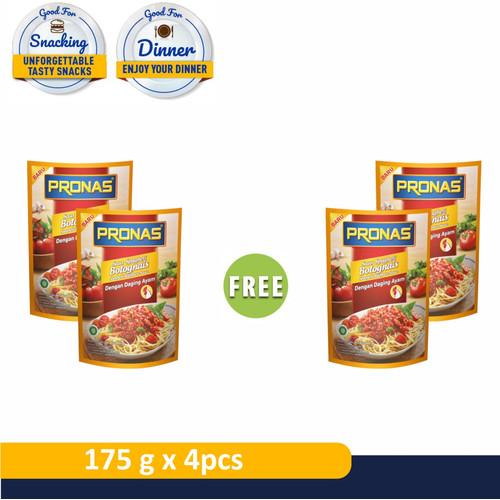 Foto Produk PRONAS Bolognese Ayam 175 g Buy 2 Get 2 dari Pronas Official Store