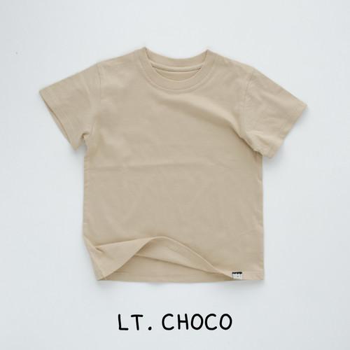 Foto Produk HEYTIMMY Kaos Anak Rumahan Basic Polos Gino Variasi 02 - Lt. Choco, 2-3 tahun dari HEYTIMMY