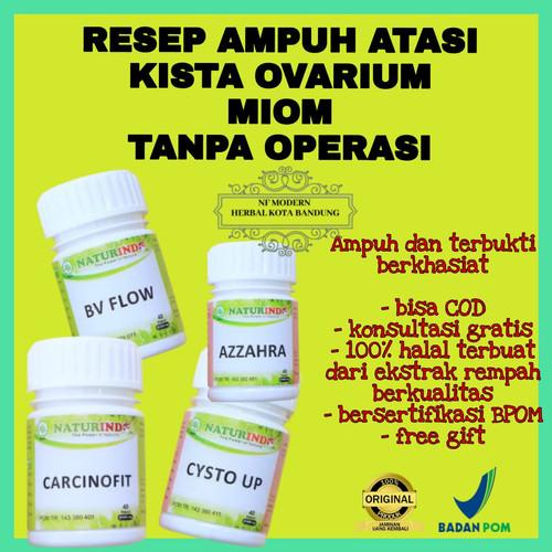 Foto Produk Obat Kista Cysta Ovarium Miom Ampuh Kista Bartholin Tanpa Operasi dari NF Herbal Modern