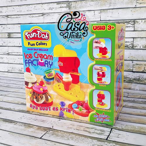 Foto Produk Fun Doh Ice Cream Factory - Mainan Anak FunDoh / PlayDoh / Play Doh dari Casa Unika