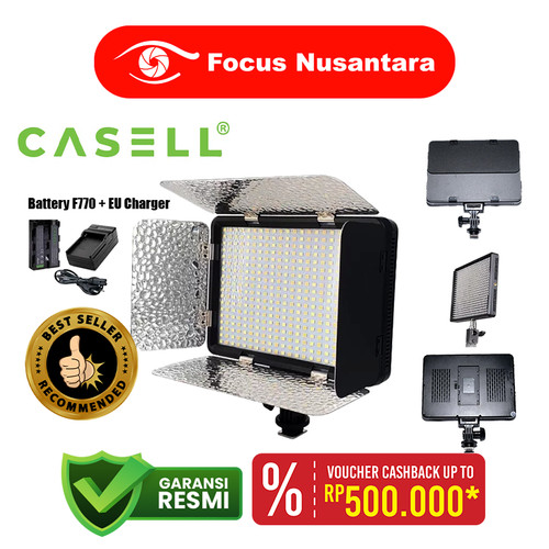 Foto Produk CASELL LED-528S With F770 + EU Charger dari Focus Nusantara