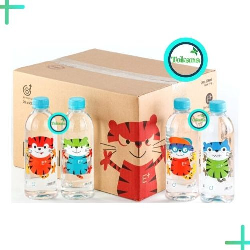 Foto Produk Eternal Plus (E+) - Air Mineral Dus 500 ML (New Normal Edition) - Cats Edition dari Tokana