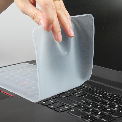 """Foto Produk Pelindung Keyboard Laptop Skin Protector 10 11 12 13 14 15.6 17 inch - 14"""" (31x13cm) dari Seniku"""