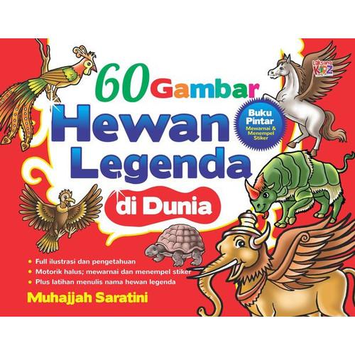 Foto Produk buku 60 Gambar Hewan Legenda di Dunia Laksana Kidz ori dari musi bookstore