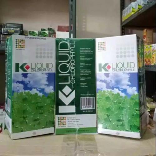Foto Produk K-Liquid Chlorophyll K-Link Klorofil klink dari Halalmart Nina Isria