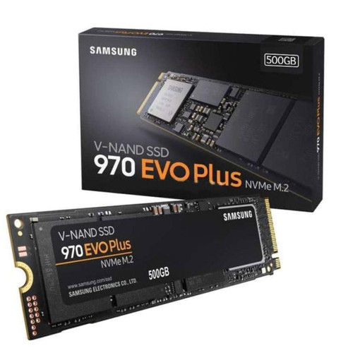 Foto Produk SSD SAMSUNG 970 EVO PLUS M.2 NVME 500GB GARNSI RESMI ssd samsung 500gb dari PojokITcom Pusat IT Comp