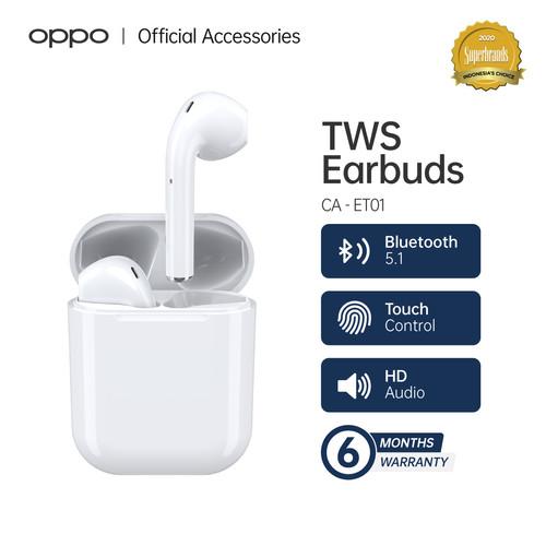Foto Produk CADE TWS Bluetooth 5.0 Earphone Airbuds Original True Wireless CA-ET01 dari OPPO OFFICIAL STORE