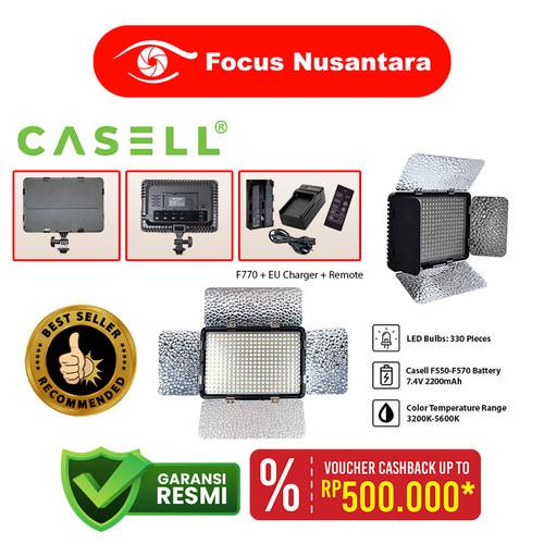 Foto Produk CASELL LED-330 ARC With F770 + EU Charger + Remote dari Focus Nusantara