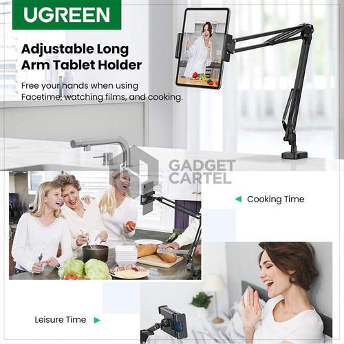 Foto Produk UGREEN 50394 LAZYPOD UNIVERSAL PHONE TAB HOLDER LAZY FLEXIBLE LONG ARM dari GADGET CARTEL