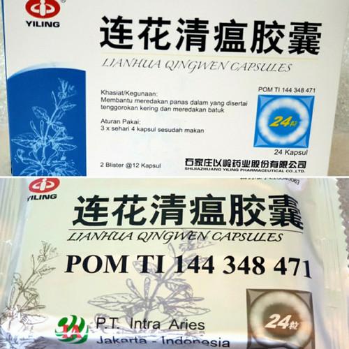 Foto Produk Lianhua Qingwen Jiaonang BPOM RESMI ASLI PT.INTRA ARIES - ASLI BPOM 100% dari Hand Gel