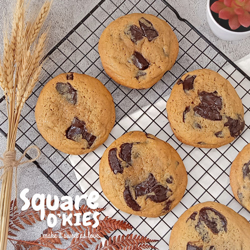 Foto Produk Chocolate Soft Cookies Original (Box Isi 5) dari Square O'kies