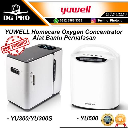 Foto Produk YUWELL YU300 YU300S YU500 YU100 Oxygen Concentrator Generator Oksigen - YU300 dari DG PRO