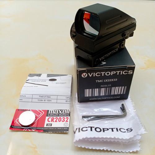 Foto Produk VICTOPTICS RED DOT SIGHT AIM COLLIMATOR 1X22X33 by VECTOR OPTICS dari DO OFFICIAL STORE
