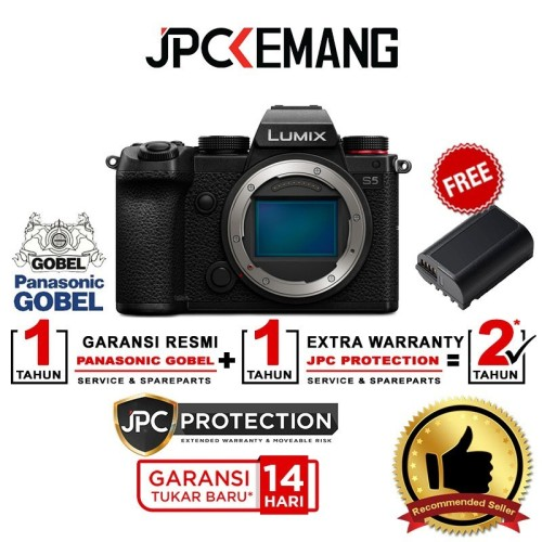 Foto Produk Panasonic Lumix S5 / Panasonic Lumix DC-S5 Body Only GARANSI RESMI dari JPCKemang