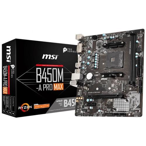 Foto Produk Motherboard AMD AM4 B450M-A PRO MAX MSI dari Ichiban Computer