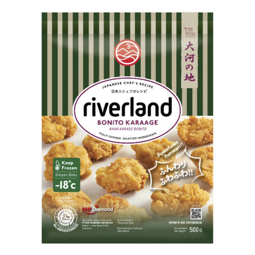 Foto Produk Riverland Bonito Chicken Karaage / Chicken Karage / Ayam Karage 500gr dari Bliss Kitchen Jakarta