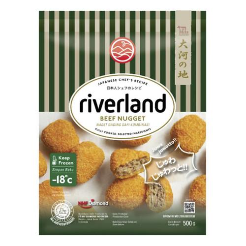 Foto Produk Riverland Beef Nugget / Naget Sapi ala Jepang 500gr dari Bliss Kitchen Jakarta