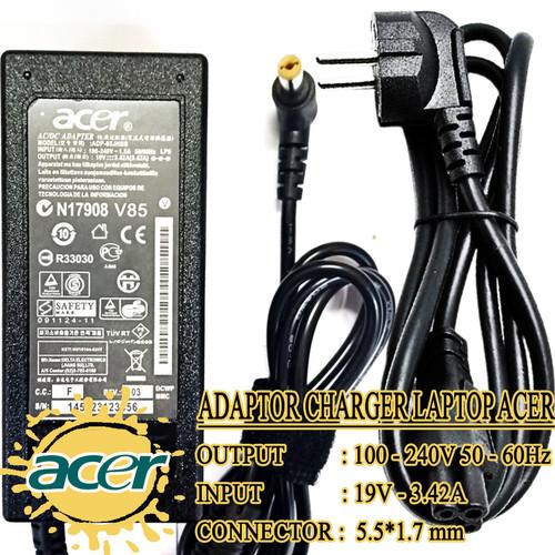 Foto Produk Adaptor Charger Carger Casan Original Laptop Acer Aspire 19V-3.42A dari JHESTORES