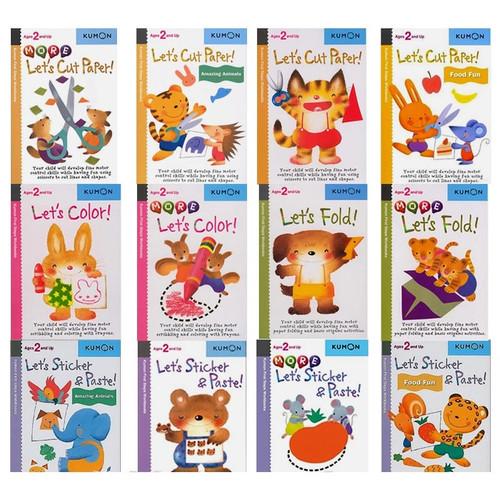 Foto Produk Buku Kumon Activity Book Buku Aktivitas Anak Buku Balita Import - Cut Paper dari LollaLand