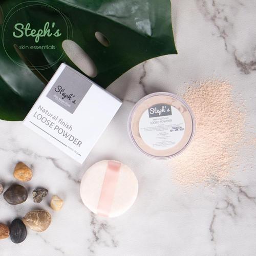 Foto Produk Steph's Natural Loose Powder dari Stephs Official