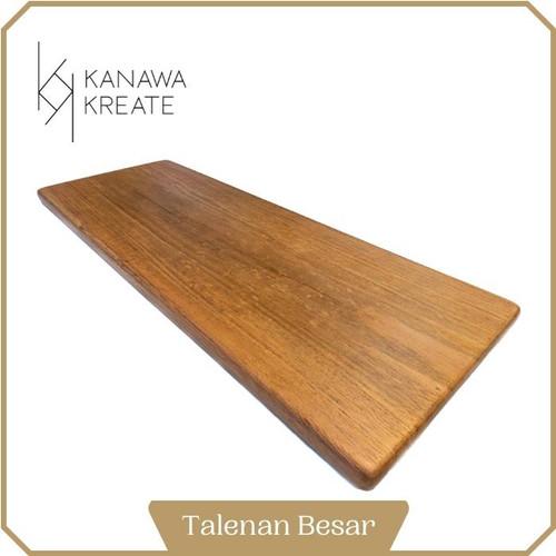 Foto Produk Talenan Kayu Mahogany (Japan Export Quality) | Ukuran Besar dari Kanawa Kreate
