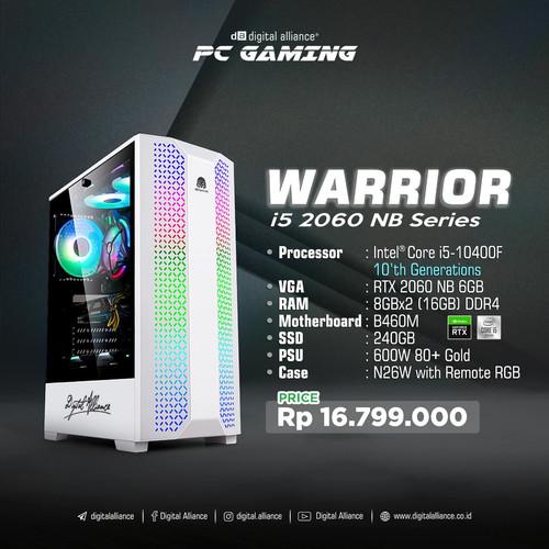 Foto Produk PC GAMING DA WARRIOR I5 2060 NB SERIES dari Digital Alliance