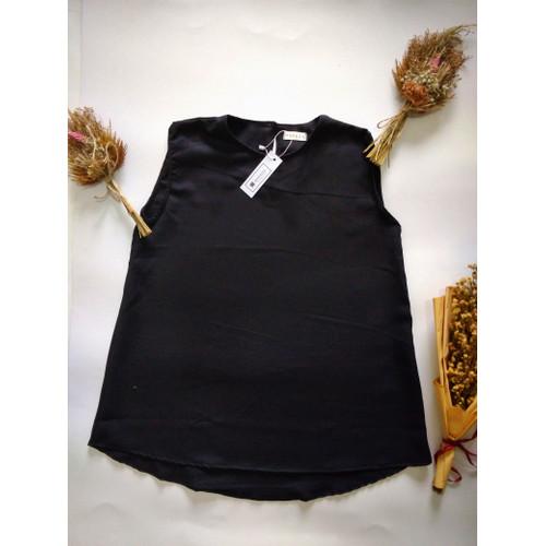 Foto Produk Inner Tanpa Lengan Baju Bumil Dalaman Blazer Blouse Tanpa Lengan - Hitam, All Size dari MAFAZA19.ID