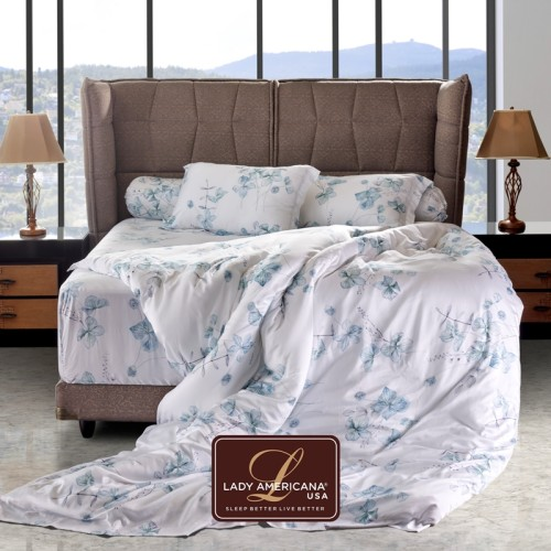 Foto Produk Lady Americana Bed Sheet ( Sprei ) Stella Blue - 160 X 200 dari IMG Jakarta