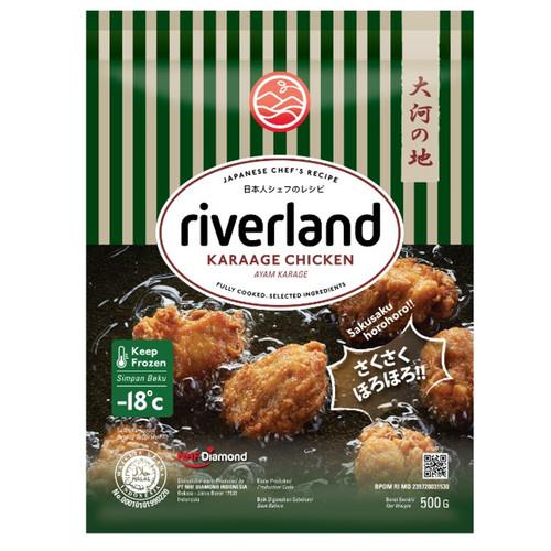 Foto Produk Riverland Karage Jepang Chicken / Bonito Karaage 500gr - Chicken Karaage dari NatureFresh