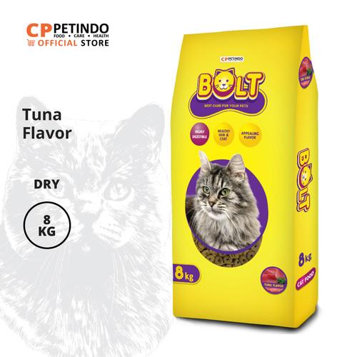 Foto Produk CPPETINDO Bolt Tuna Cat Food - 8 Kg Kibble Donat dari CPPETINDO