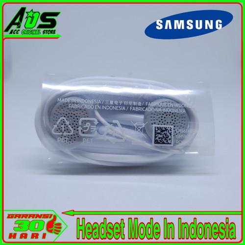 Foto Produk Earphone Headset Samsung A3 A5 A6 A6 Plus A7 ORIGINAL 100% - Putih dari Acc Original Store.