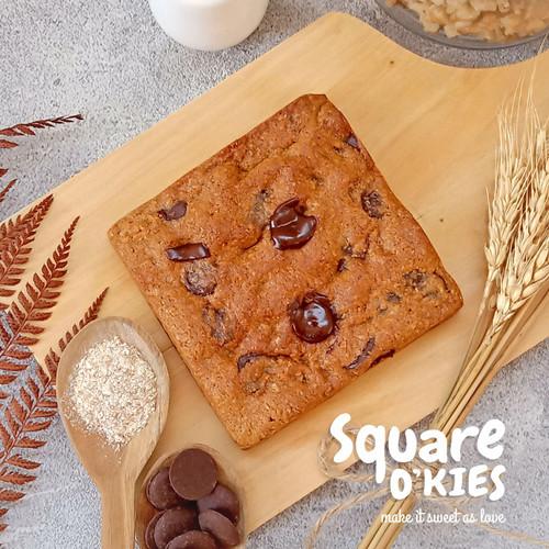 Foto Produk Dark Chocolate Soft Cookies Square O'kies - Regular dari Square O'kies