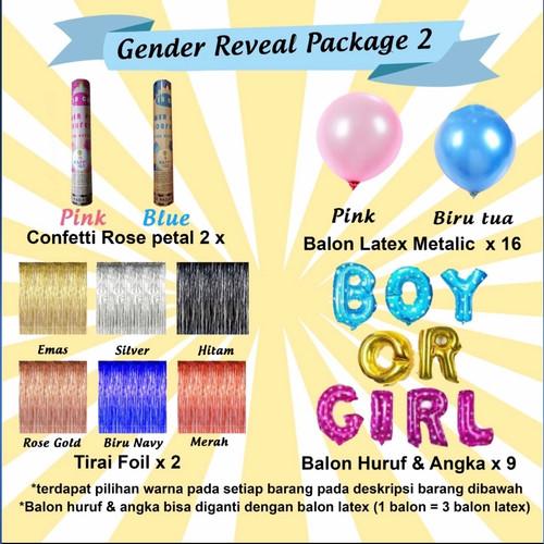 Foto Produk Paket Baby Gender Reveal 2 dari HappyBox