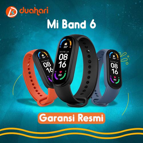 Foto Produk Xiaomi MiBand 6 AMOLED Mi Band 6 Smartwatch SpO2 ORIGINAL - Global Version dari Dua Hari Jakarta