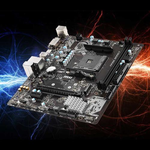 Foto Produk MSI B450M-A PRO MAX (AMD AM4 Motherboard) dari WMC iMEDIA